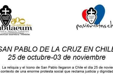 Visita del ícono y la reliquia de San Pablo de la Cruz en CHILE