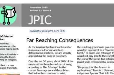 Passionist JPIC Australia – November 2019