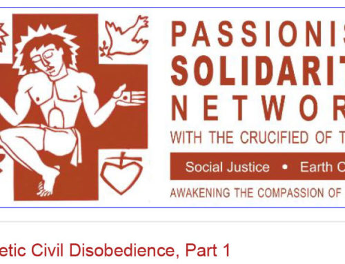 PASSIONIST SOLIDARITY NETWORK Newsletter – November 2019