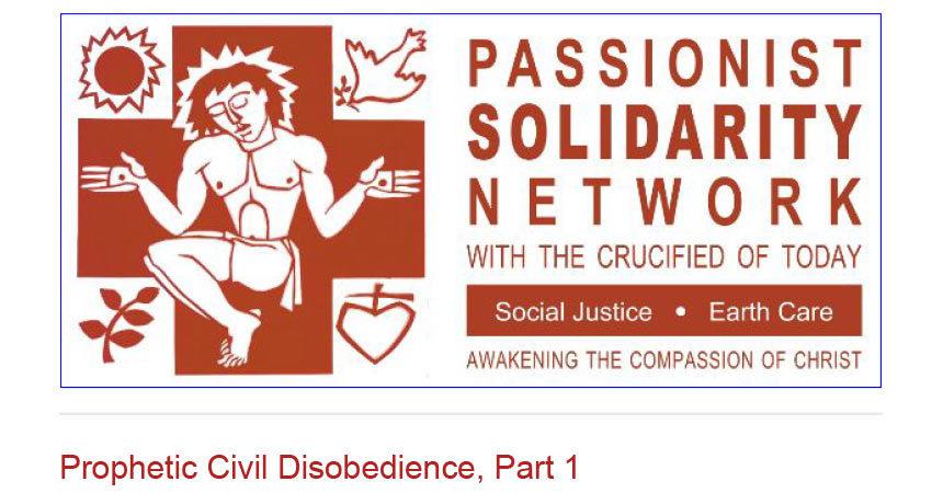 PASSIONIST SOLIDARITY NETWORK Newsletter – November 2019
