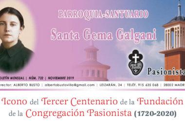 """Revista """"SANTA GEMA"""" – Noviembre 2019"""