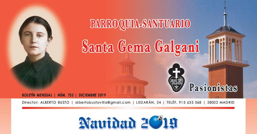 """Revista """"SANTA GEMA"""" – Diciembre 2019"""