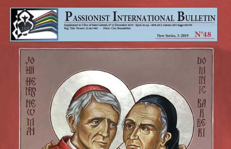 Passionist International Bulletin<br>N° 48 (3-2019)
