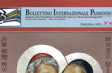 Bollettino Internazionale Passionista<br>N° 48 (3-2019)