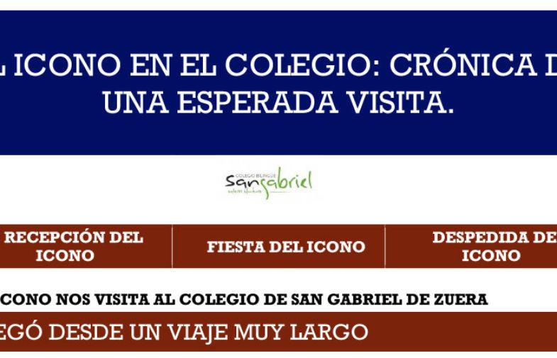 Visita del Icono y la Reliquia…<br>COLEGIO DE SAN GABRIEL DE ZUERA