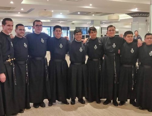 PROFESSION OF FIRST VOWS10 novices of the SCOR Province