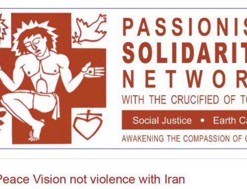 PASSIONIST SOLIDARITY NETWORK Newsletter – January 2020