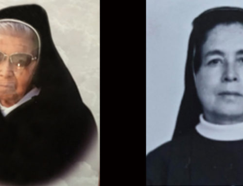 INFORMACIÓN DEL FALLECIMIENTOHna. María Abigail De La Santa Faz y Hna. Lilia de las Lágrimas de María