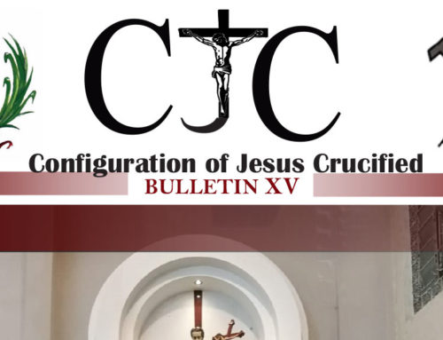 CJC – Configuration of Jesus CrucifiedBULLETTIN XV