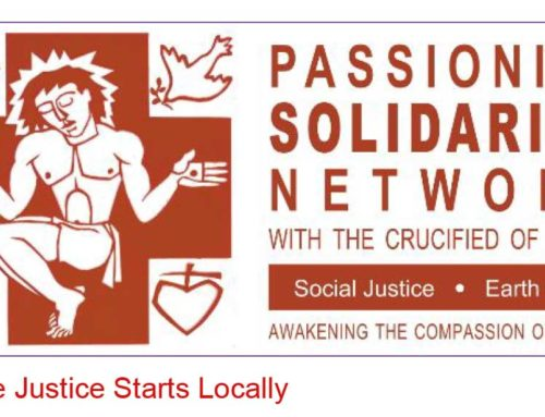 PASSIONIST SOLIDARITY NETWORK Newsletter – March 2020