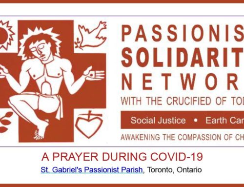 PASSIONIST SOLIDARITY NETWORK – May 2020