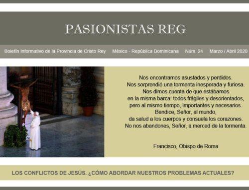 "Boletín ""PASIONISTAS REG""N° 24 Marzo-Abril 2019"