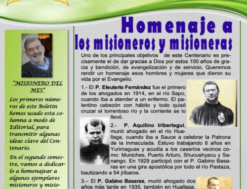 BOLETÍN DEL CENTENARIO – Julio 2020