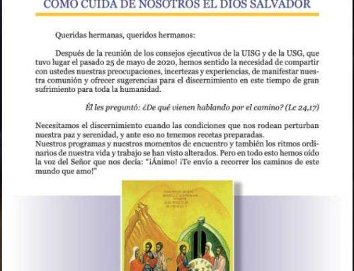 CUIDÉMONOS LOS UNOS A LOS OTROS COMO CUIDA DE NOSOTROS EL DIOS SALVADOR