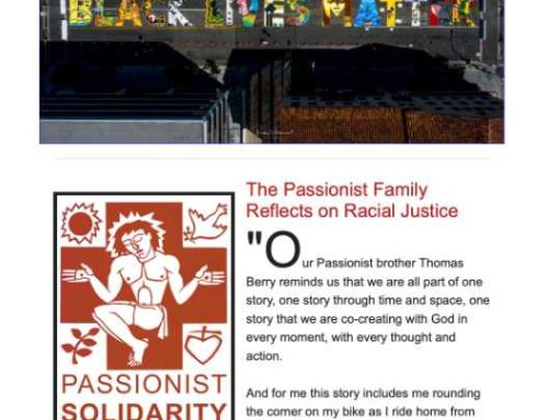 PASSIONIST SOLIDARITY NETWORK – July 2020