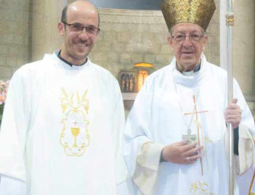 ORDENACIÓN DIACONALP. Javier Marín Martínez (SCOR)