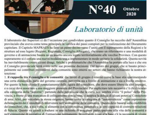"""Bollettino """"MAPRAES Connect"""" – Ottobre 2020"""