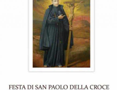 Messaggio del Superiore GeneralFesta di San Paolo Della Croce