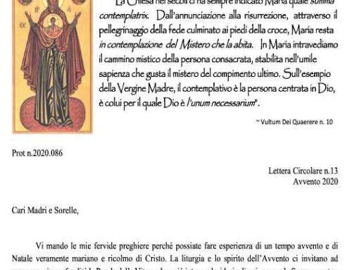 Monache Passioniste.- Lettera Circulare 13