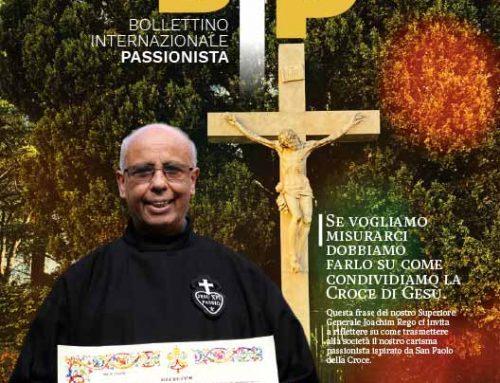 BIP – Bollettino Internazionale PassionistaN° 51 (3-2020)