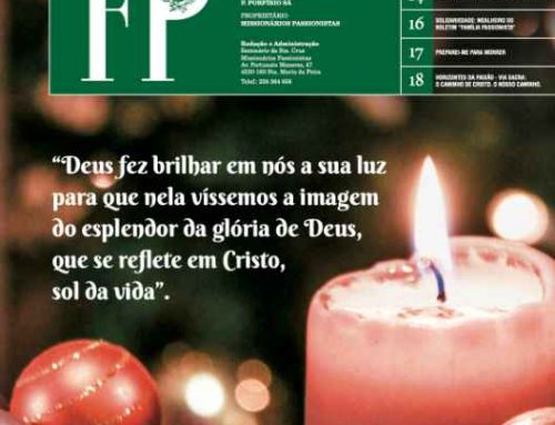 """Boletín """"FAMÍLIA PASSIONISTA"""" de los Passionistas en PortugalOUTUBRO‐NOVEMBRO‐DEZEMBRO/2020"""