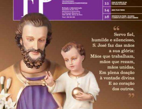 """Boletín """"FAMÍLIA PASSIONISTA"""" de los Passionistas en PortugalJANEIRO‐FEVEREIRO‐MARÇO/2021"""
