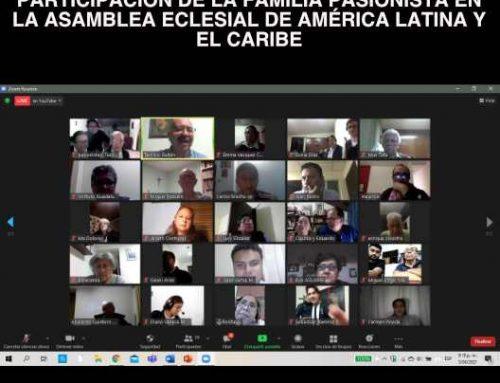 PARTICIPACIÓN DE LA FAMILIA PASIONISTA EN LA ASAMBLEA ECLESIAL DE AMÉRICA LATINA Y EL CARIBE