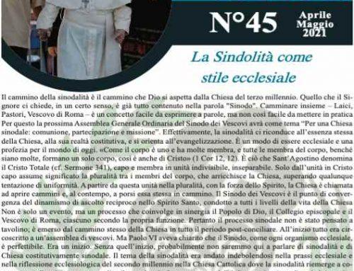 """Bollettino """"MAPRAES Connect"""" N°45-Aprile-Maggio 2021"""