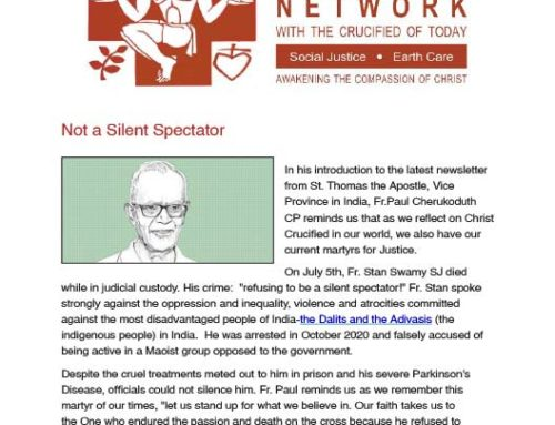 Passionist Solidarity Network 19/08/2021