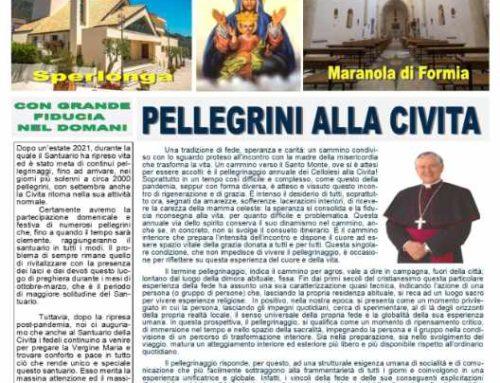 """Bollettino """"La Madonna della Civita""""- Settembre 2021"""