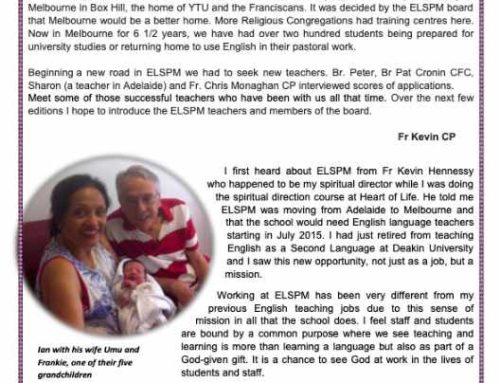 ELSPM Student Bulletin No. 7 – September 2021