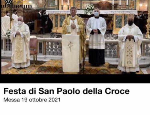 Festa di San Paolo della Croce 2021Messa 19ottobre 2021.