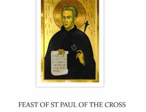 FEAST OF ST PAUL OF THE CROSS 2021